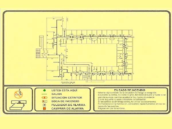 Planos de ubicación y emergencia